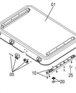 Ersatzglas Ersatzscheibe Dometic Seitz HEKI 3 247x300 - Ersatzglas / Ersatzhaube für Dometic / Seitz HEKI 3 -