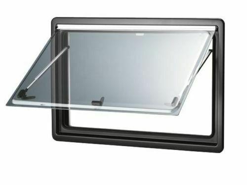 dometic ausstellfenster s4 rahmenfenster mit rollo für camping-wohnwagen und wohnmobil