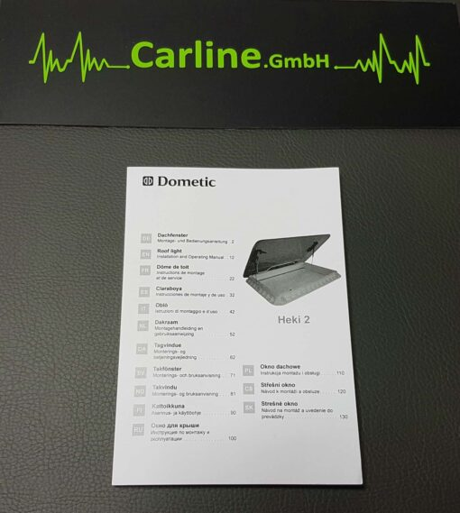 dometic heki 2 dachfenster 08 510x569 - Dometic Seitz Heki 2 Dachhaube komplett 960 x 655mm -