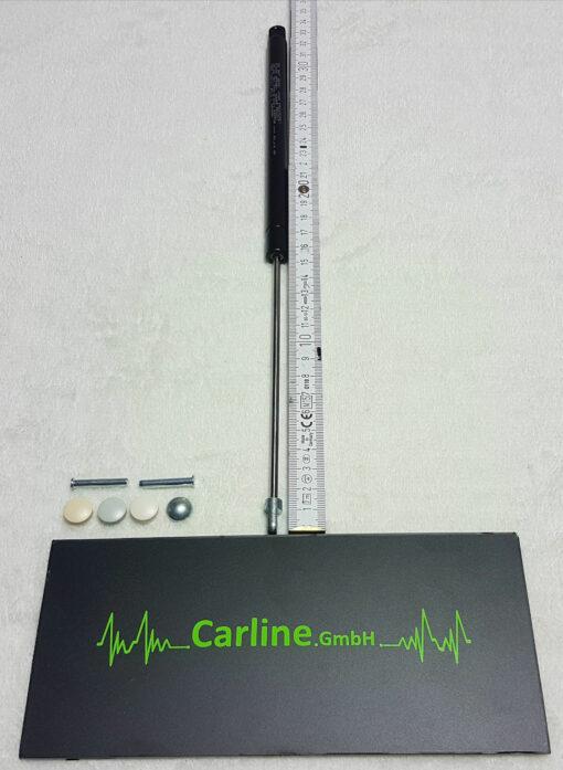 heki gasfeder h2 03 510x697 - Dometic Seitz Gasfeder - Komplettset mit Montagematerial - passend für Heki 2 Dachfenster Originalteil -